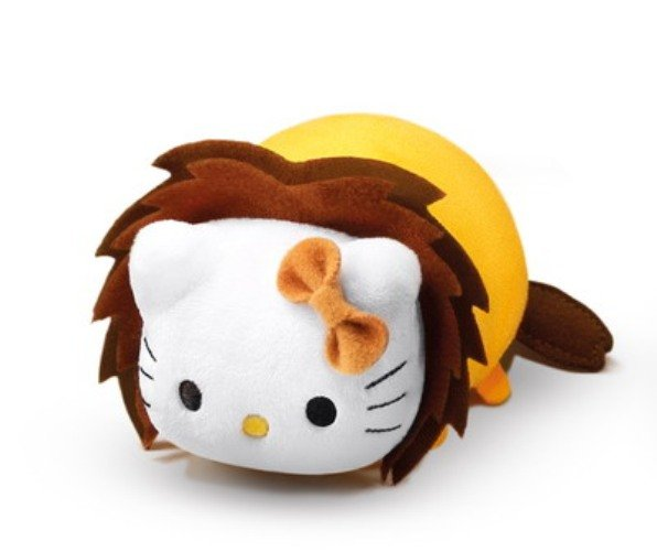 7-11 HK Sanrio Hello Kitty & Friends Animal Carnival Plush Strap Doll Hello Kitty