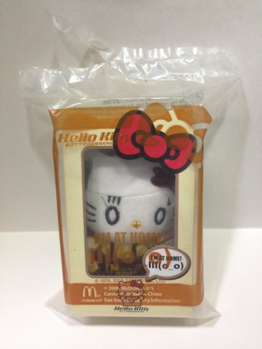2008 Mcdonald's HK Sanrio HELLO KITTY Messenger doll Plush (I'm home)