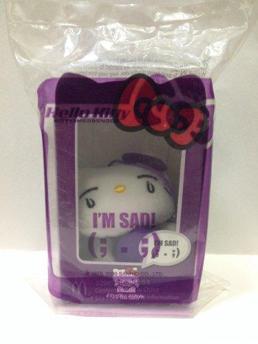 2008 Mcdonald's HK Sanrio HELLO KITTY Messenger doll Plush (I'm sad)