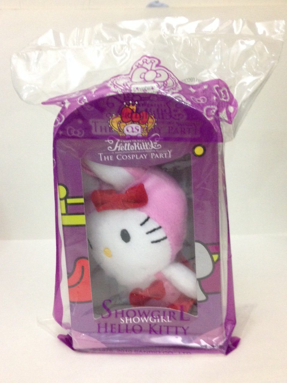 2010 Mcdonalds Sanrio HELLO KITTY Cosplay Party Plush Doll (Showgirl)