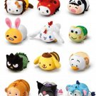 7-11 HK Sanrio Hello Kitty & Friends Animal Carnival Plush Strap Dolls 14pcs