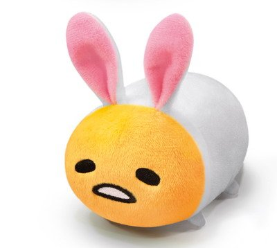 7-11 HK Sanrio Hello Kitty & Friends Animal Carnival Plush Strap Doll Gudetama