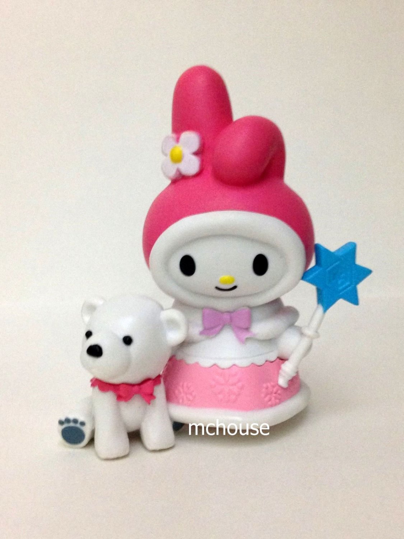 7-11 HK Sanrio 40th Anniversary Hello Kitty & Friends Hello Party Figurine My Melody