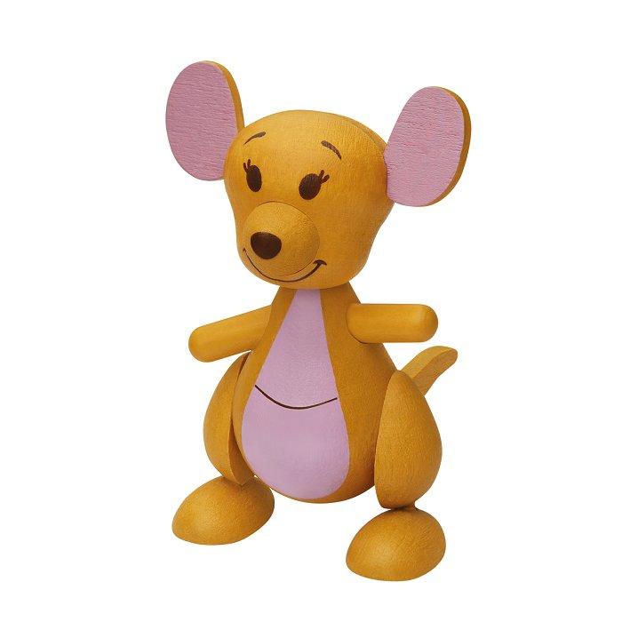 7-11 Disney Winnie the Pooh & Friends Wooden Figure - Kanga
