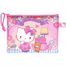 Sanrio Hello Kitty Multipurpose Zipper Mesh Bag