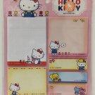 Sanrio Hello Kitty Post-it Memo Note Pad Set