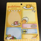 Sanrio Gudetama Egg Post-it Memo Note Pad Set
