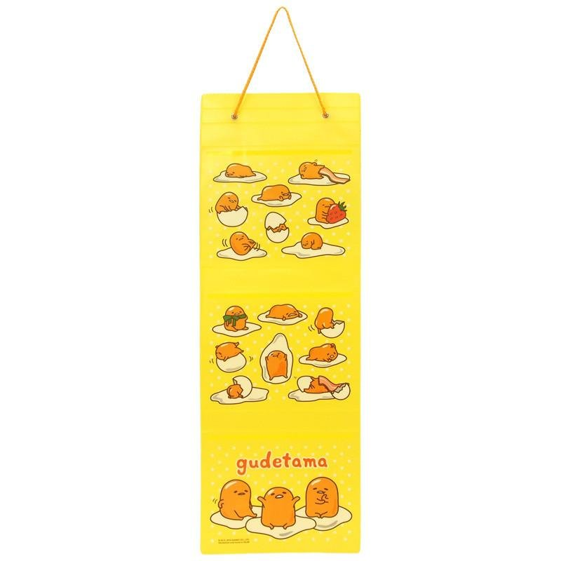 Sanrio Gudetama Lazy Egg PVC Hanging Tidy Holder - B