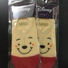 Disney Winnie the Pooh Korea Low Cut Women's Socks 2 Pairs
