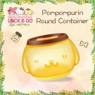"7-11 HK Sanrio ""Lock & Go"" Pom Pom Purin Round Container"