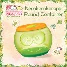 """7-11 HK Sanrio """"Lock & Go"""" Kerokero Keroppi Round Container"""