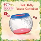 "7-11 HK Sanrio ""Lock & Go"" Hello Kitty Round Container"