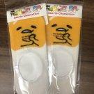 Sanrio Gudetama Lazy Egg Korea Low Cut Women's Socks Non-slip Pad 2 Pairs