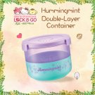 "7-11 HK Sanrio ""Lock & Go"" Hummingmint Double-Layer Container"