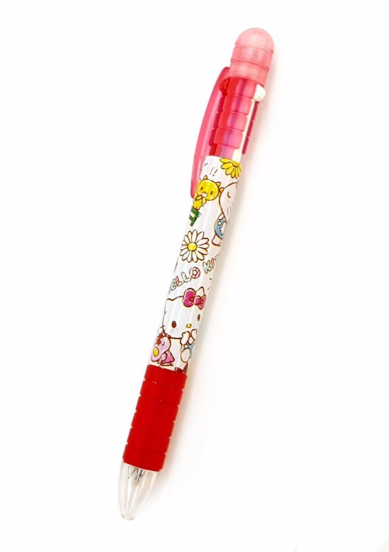 Sanrio Hello Kitty 3-Way Pen Mechanical Pencil + 2 Colors Ball Pen 3 in 1