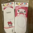 Sanrio My Melody Korea Low Cut Women's Socks Non-slip Pad 2 Pairs