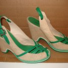 MARC JACOBS WEDGE LEATHER SHOES Sz 7.5