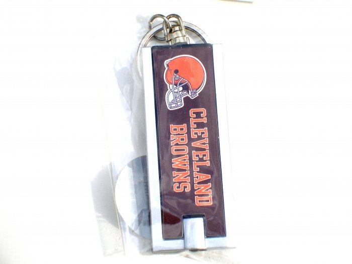 Cleveland Browns slim LED Flashlight Keychain
