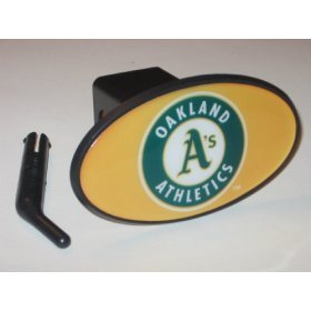 Oakland Athletics Plastic Trailer Hitch Cover