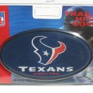 Houston Texans Plastic Trailer Hitch Cover