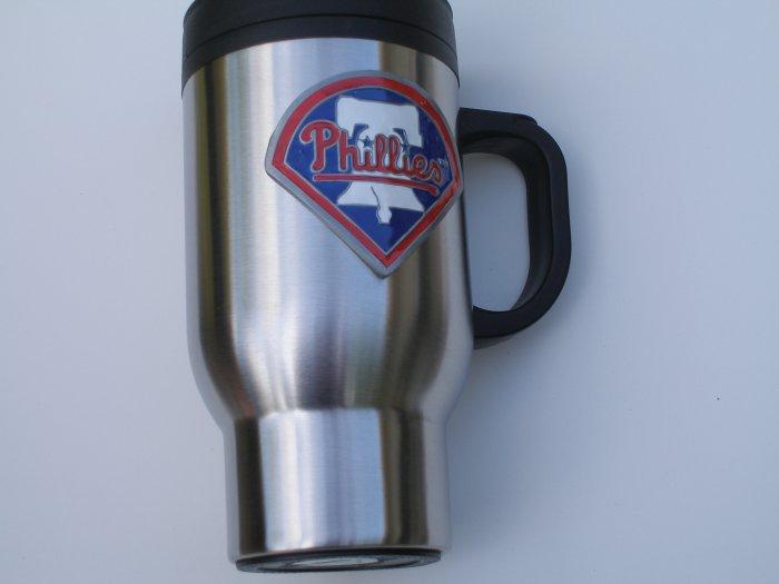 Philadelphia Phillies Stainless Steel Travel Mug