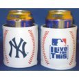 New York Yankees Leather Can Holder
