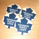 Toronto Maple Leafs Handpainted Wooden Coasters-set of 4