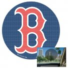 Boston Red Sox 12 inch Perforated Decal