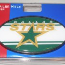 Dallas Stars Plastic Trailer Hitch Cover