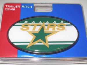 Dallas Stars Plastic Trailer Hitch Cover