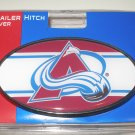 Colorado Avalanche Plastic Trailer Hitch Cover