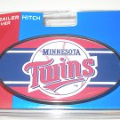 Minnesota Twins Plastic Trailer Hitch Cover