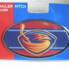Atlanta Thrashers Plastic Trailer Hitch Cover