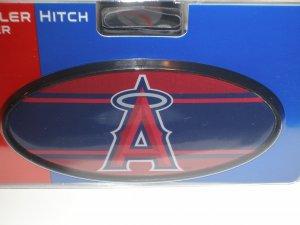 LA Angels Plastic Trailer Hitch Cover