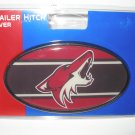 Phoenix Coyotes Plastic Trailer Hitch Cover