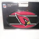 Arizona Cardinals Plastic Trailer Hitch Cover