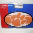 Clemson University Plastic Trailer Hitch Cover