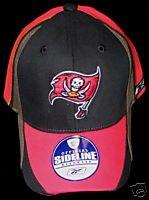 Tampa Bay Buccaneers Reebok Sidelines Flex Fit Hat