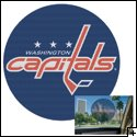 "Washington Capitals 12"" Perforated Decal"