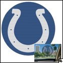 "Indianapolis Colts 12"" Perforated Decal"