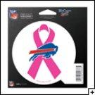 Buffalo Bills Indoor/Outdoor Pink Ribbon Magnet