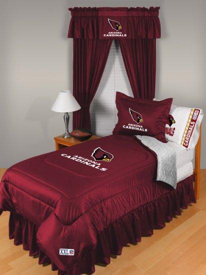 Arizona Cardinals Locker Room 7 pce Bedding Set-Twin