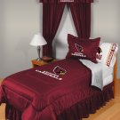 Arizona Cardinals Locker Room 7 pce Bedding Set-Twin