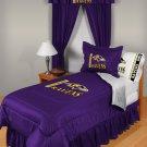Baltimore Ravens Locker Room 7 pce Bedding Set-Twin