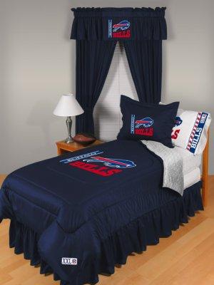 Buffalo Bills Locker Room 7 pce Bedding Set-Twin