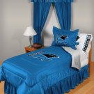 Carolina Panthers Locker Room 7 pce Bedding Set-Twin