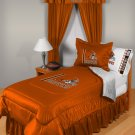 Cleveland Browns Locker Room 8 pce Bedding Set -Queen
