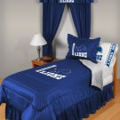 Detroit Lions Locker Room 7 pce Bedding Set-Twin