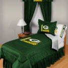 Green Bay Packers Locker Room 7 pce Bedding Set-Twin