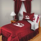 Kansas City Chiefs Locker Room 7 pce Bedding Set-Twin